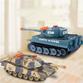 New Coming Gift Fighting Battle Tanks RC Infrared Shooting Tank Electric Toys Army Vehicle Big War