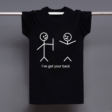 2016 Summer Style I've Got Your Back Tshirts Funny Printing Short Sleeve T-shirts Cotton Casual Men T Shirts Tees Tops