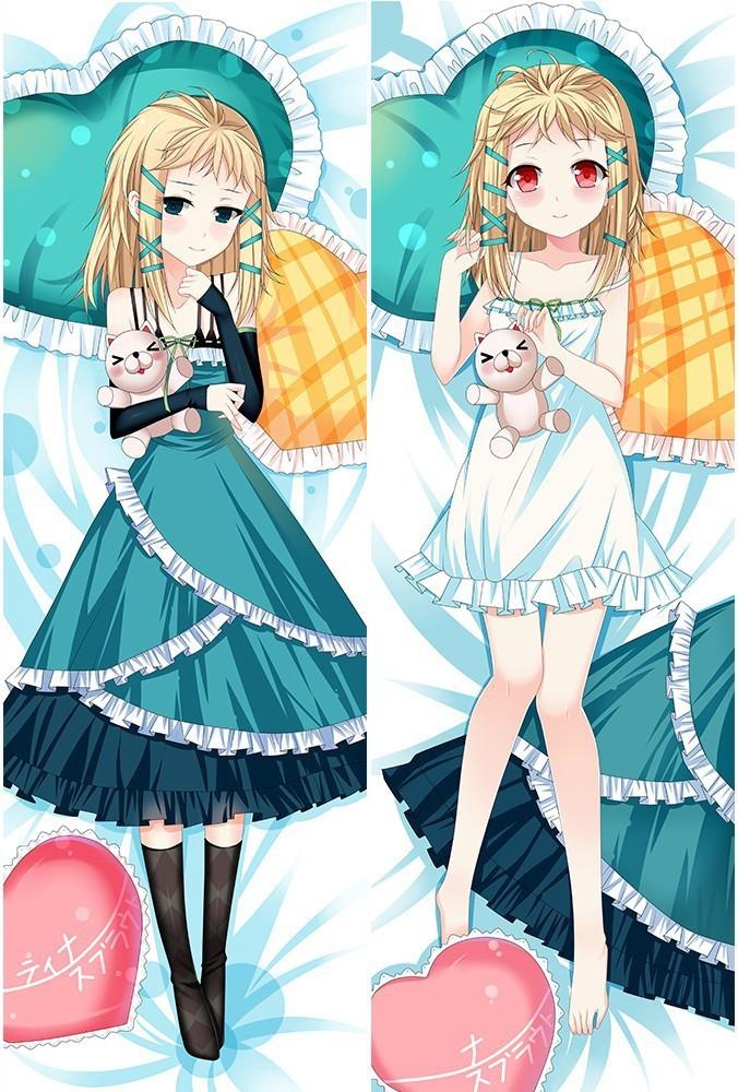 "150CM TeachingFeeling Sylvie Anime Dakimakura HuggingBody PillowCase Otaku 59/"""