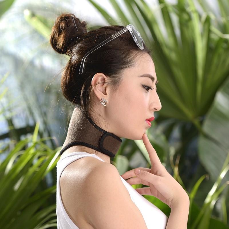 New kind Tourmaline Magnetic Therapy Neck Massager Cervical Vertebra Protection Spontaneous Heating Belt Body Massager