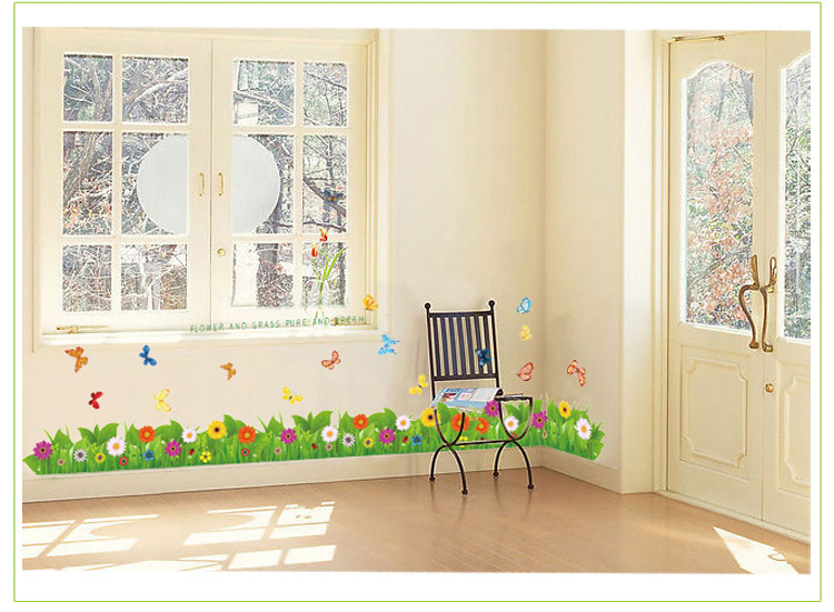 Http Www Aliexpress Com Store Product Flower Butterfly Home Decor Wall Sticker Photo Frame Poster Wall Decals Bathroom Kitchen Decoration Wall Art 1047479 1748133224 Html