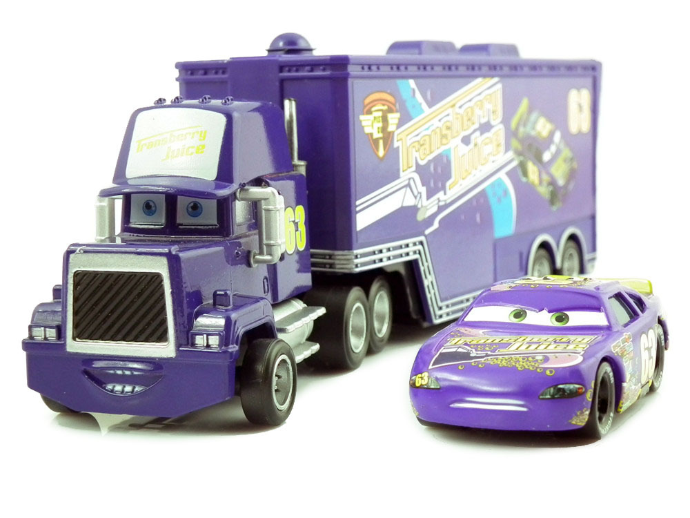 Pixar Cars 2 63 Racer Transberry Juice Diecast Metal Classic Toy cars for Kids Children(China (Mainland))