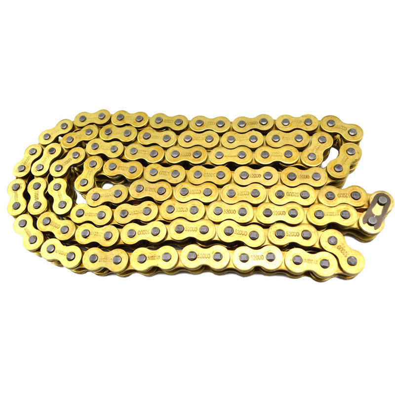 520* 120 Brand New UNIBear Motorcycle Drive Chain 520 Gold O-Ring Chain 120 Links For CR YZ RM KX 125 250 450 500 Drive belts<br><br>Aliexpress