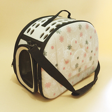 Dog Travel Folding Breathable Pet Bag One Shoulder Out Bags Portable Luggage Cat Pack Pet Carriers and Bag Small Pet Carrier Eva(China (Mainland))