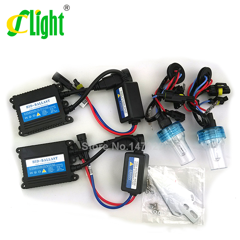 Xenon hid conversion kit 35W H1 H3 H7 H8 H10 H11 H9 H11 H13 9005 9006 HB3 HB4 lamp with silm ballast for car headlight styling<br><br>Aliexpress