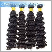 Kabeilu goodly peruvian deep wave 100% unprocessed virgin human hair extensions peruvian remy hair bundles peruvian virgin hair(China (Mainland))