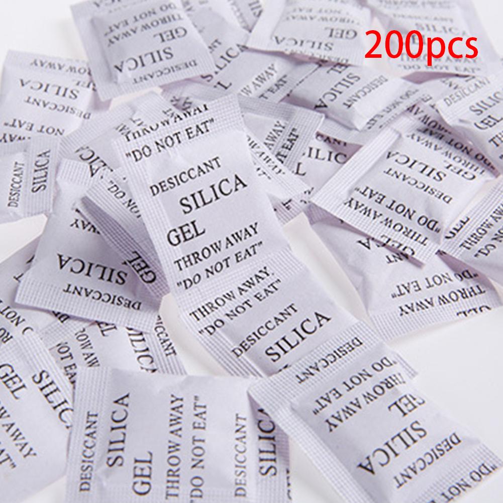 200 упаковок силикагель нетоксичный осушитель Влажный Увлажнитель впитывает aeProduct.getSubject()