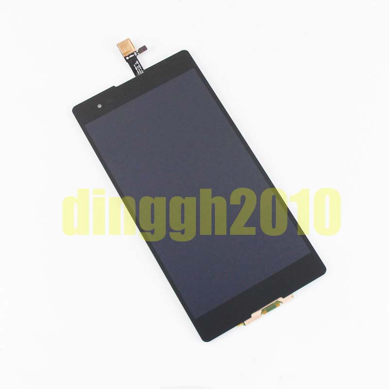Texted Free tools Replacement For Sony XPERIA T2 Ultra Dual D5322 Black LCD Screen Display+Digitizer Touch Free shipping(China (Mainland))