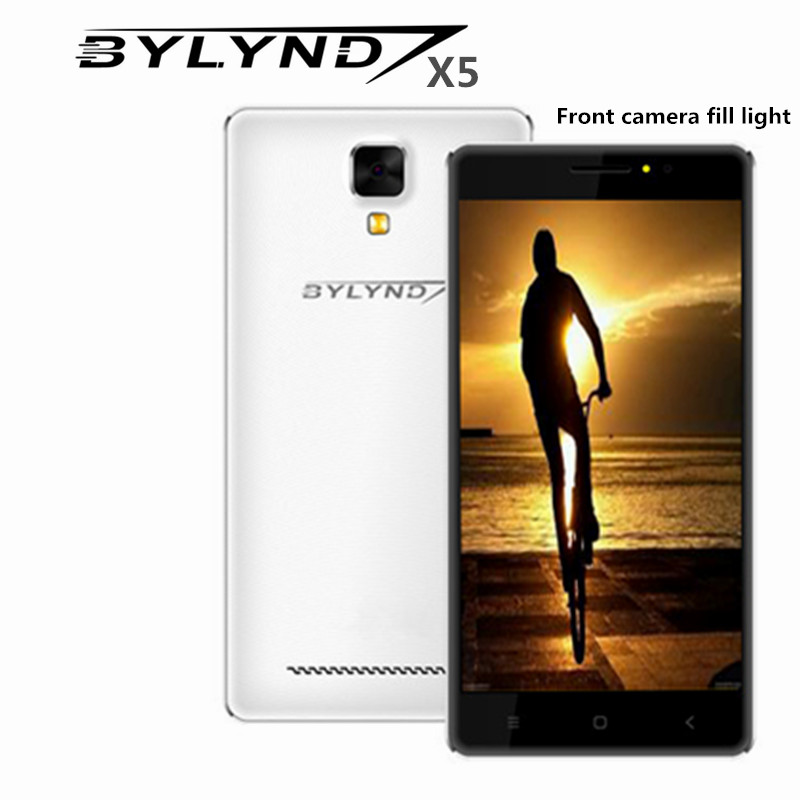 "Original bylynd x5 smartphones mtk6752 octa core 2G RAM 8G ROM 5.0"" Android 5.1 fill light 8.0mp china mobile cell phones unlock(China (Mainland))"