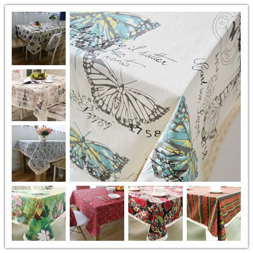 Free shipping good quality ZAKKA linen table cloth/tablecloth for home/coffee shop(China (Mainland))