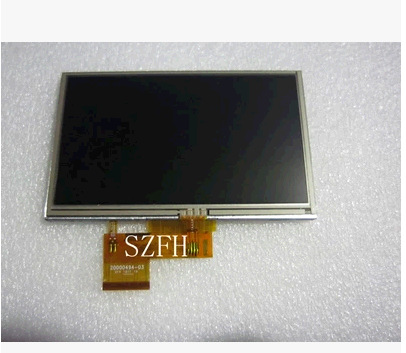 INNOLUX 5.0 inch GPS TFT LCD Display Screen with Touch Panel AT050TN34 V.1 LCD+TOUCH(China (Mainland))
