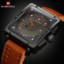 2016 New Watches Men NAVIFORCE Luxury Brand Fashion Men's Quartz Watch Date Waterproof Sport Man Clock Army Military WristWatch(China (Mainland))