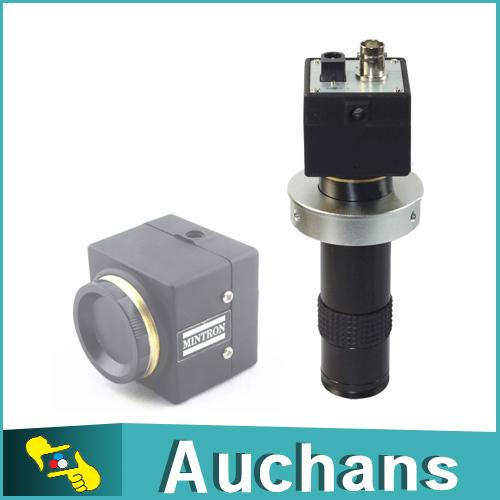 MINTRON Lab Industrial Digital Microscope Camera BNC Video Output C-MOUNT Lens(China (Mainland))