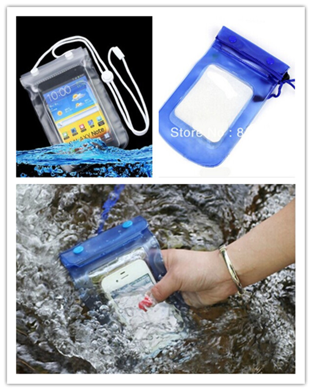 For Samsung Galaxy grand duos i9080 i9082 Note N7000 i9220 I9228 Mobile Phone Waterproof Dry Bag Case Transparent With Scrub(China (Mainland))