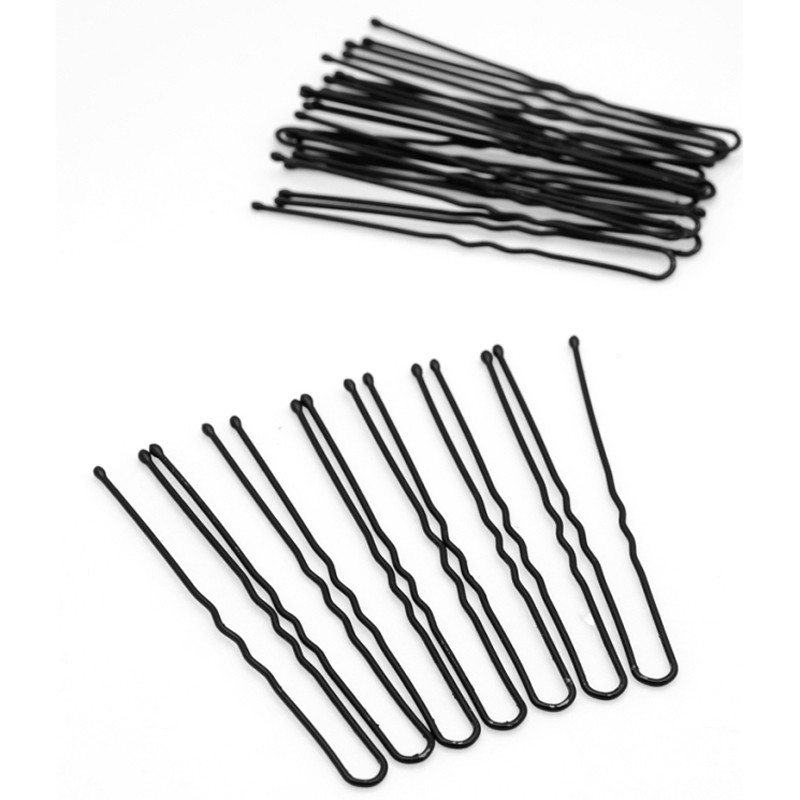 90pcs Black Hair Pin Hair Clips Metal Thin U Shape Hairpins For Women Ladies Pins Hair Accessories Wholesale(China (Mainland))