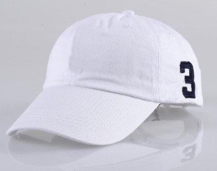 White Mens Polo Baseball Caps Golf Cap Women&Ladies Solid Cotton Tennis Hats Boys&Girls - Lenka Store store