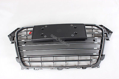 S4 Style Front Hood Center Grille Grill Fit For Audi A4 B9 Facelift 2013(China (Mainland))