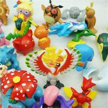 24Pcs/1Lot Pokemon Wholesale More Style New Cute Monster Mini Figures Toys Random(China (Mainland))