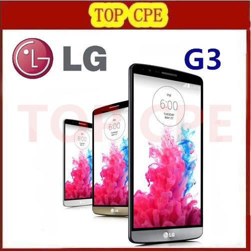 Original LG G3 F400 LG G3 D855 mobile phone 3GB RAM 32GB ROM Quad Core 4G LTE 5.5'' 2560*1440PX 2K Screen Android 13.0MP(China (Mainland))