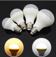 Buy SMD5730 E27 3W 5W 7W 9W 110V/220V warm / cool white voal LED bulb light lamp energy saving LED Ball Steep light for $1.24 in AliExpress store
