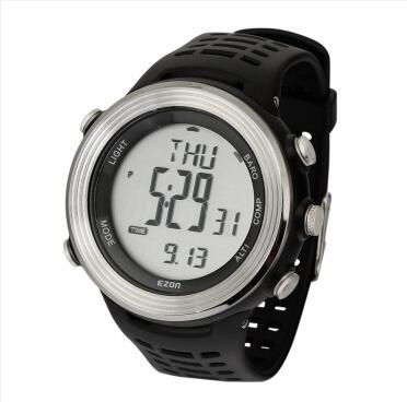 Professional outdoor sports watch Height/temperature/pressure/compass 50m waterproof original ezon H011E11 free shipping<br><br>Aliexpress