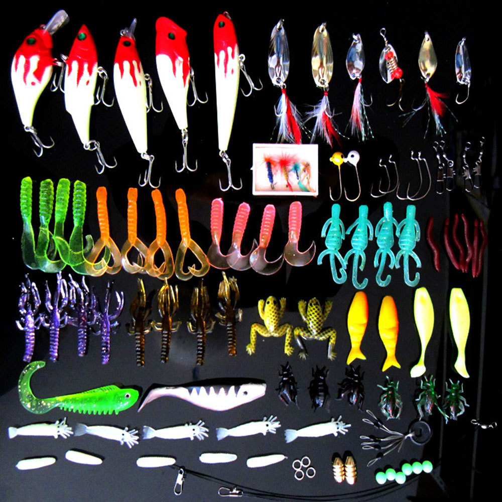 100pcs Big Game fishing lures plastic hard bait fishing tackle pesca fish wobbler minnow artificial lure swimbait accessories(China (Mainland))