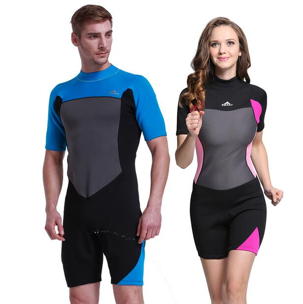 2 Color High Quality Men And Women 2mm Thick Material Warm Siamese Professional Sunscreen Warm Wetsuit  1006<br><br>Aliexpress