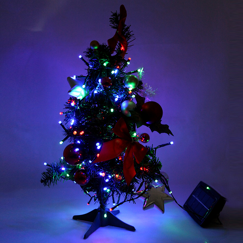 White/Warm White/Blue/Red/Green/RGB/Purple/Yellow 200LED Solar Lamps String Christmas Wedding Party Garden Decor Fairy Light(China (Mainland))