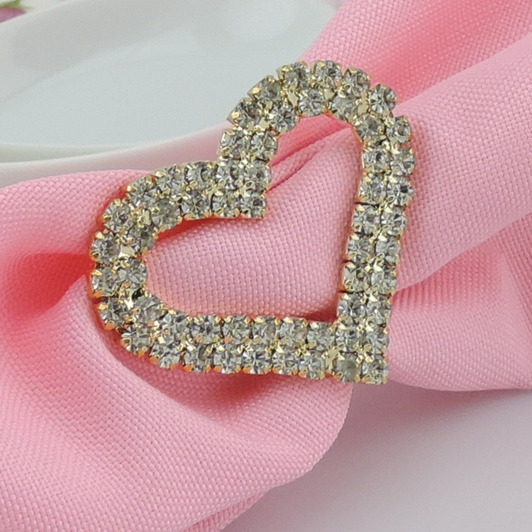 napkin rings wholesale rhinestone crystal flower wedding napkins ring