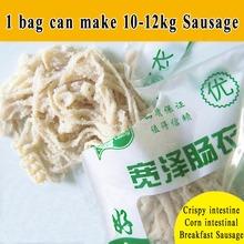 1 Bag Sheep Sausages Casing New Package Diameter 20Mm Sausage Casing,Hog Casing,Sausage Cover,Sausage Skin(China (Mainland))