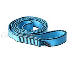 FREE POSTAGE High Quality 22KN Nylon Quickdraw Sling 20MM x 600MM / Express Slings for Rock Climbing / Rescue (China (Mainland))