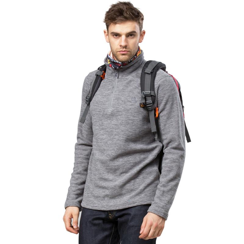 Tectop Brand Men Fleece Jacket Outdoor Sports Jacket For