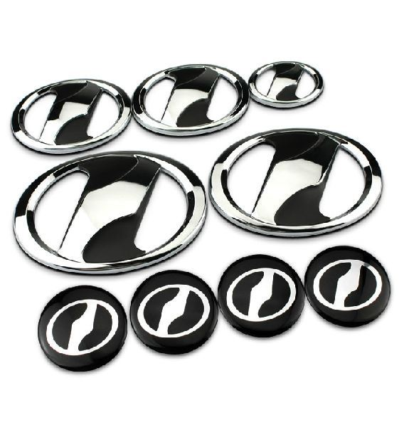 Toyota Car Emblem Stickers Exterior Head Tail Wheel Hup Cap Brand Logo Decorations Accessories For Yaris Cololla(China (Mainland))