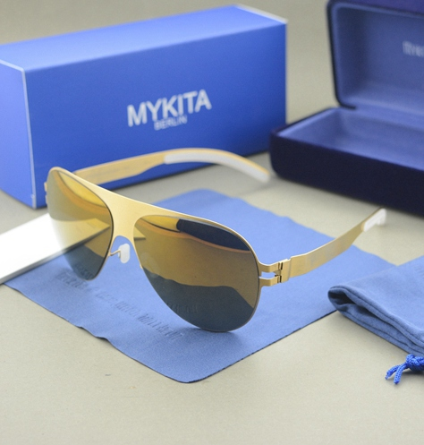 Гаджет  HOT!Free shipping mykita brand Sunglasses women and men sea beach sunglasses with original case None Одежда и аксессуары