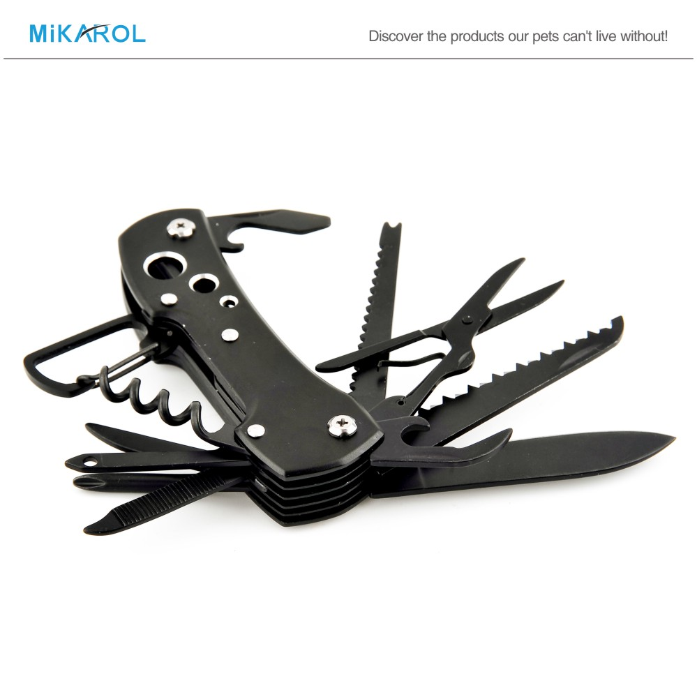 High Quality Outdoor Military Folding Knife Whole Steel Black Mechanical Mini Survival Camping Knife(China (Mainland))
