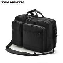 Men Oxford Fabric Waterproof Laptop Briefcase Multifunctional Large Business Expandable Handbag Shoulder Messenger Laptop Bags(China (Mainland))