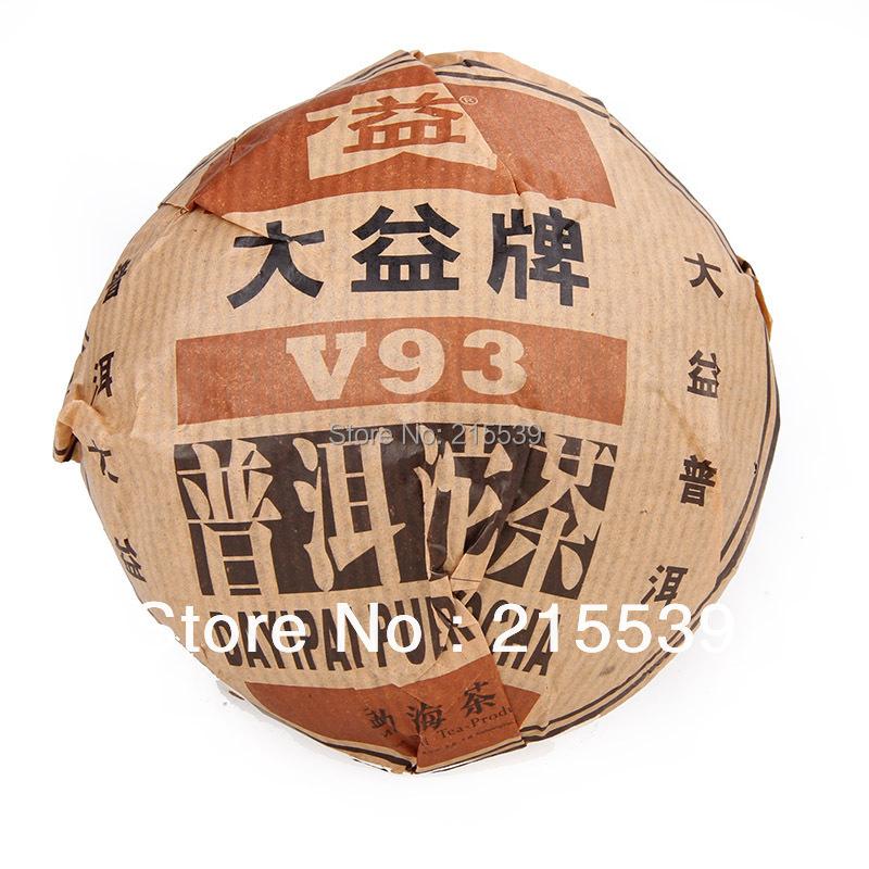 [GRANDNESS] V93 * 2005 504 Yunnan MengHai Tea Factory Dayi TAETEA Premium Ripe Puer Pu Er Pu-erh Tuo Cha Tea 250g(China (Mainland))