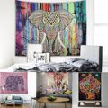 Mandala Tapestry Wall Hanging Hippie Throw Vintage Elephant Mandala Hippie Gypsy Beach Throw Tapestry Bedspread Indian
