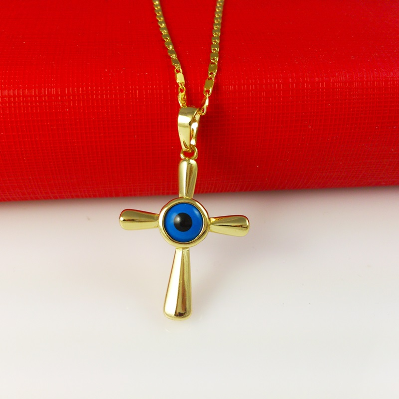 Wholesale New Arrival Fashion Jewelry Jesus cross necklace glasses 24K Gold Necklace Women Jewelry, Free Shipping YYLA108(China (Mainland))