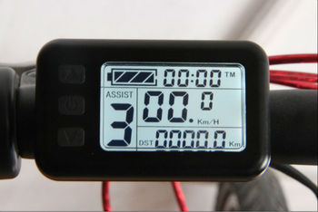 36V Electric bicycle LCD(Display speed,voltage,mileage...)