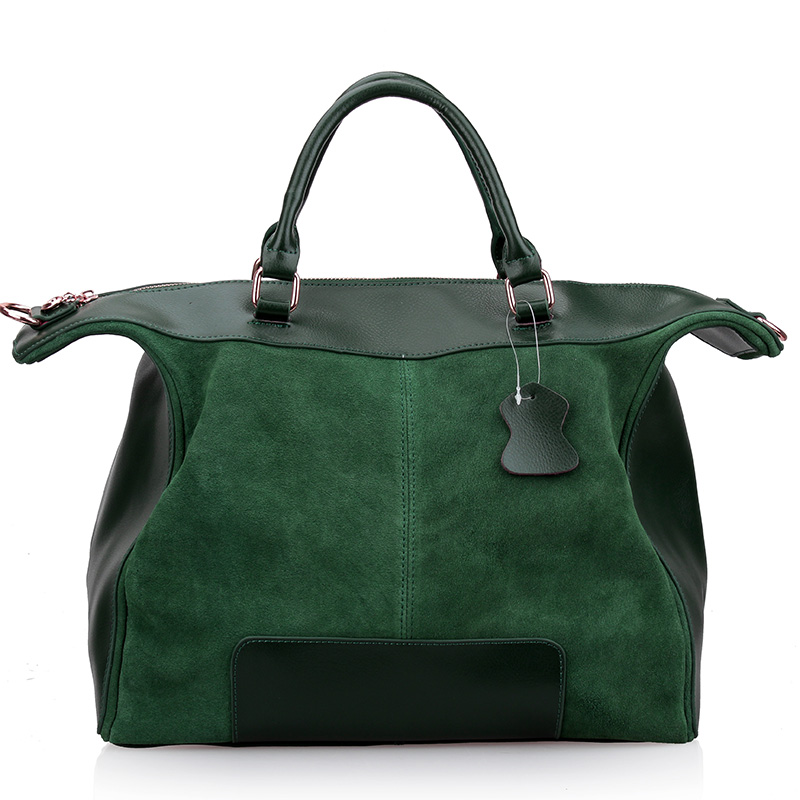 Women's handbag fashion 2015 women's casual genuine leather female cowhide patchwork messenger bag ladies tote bags