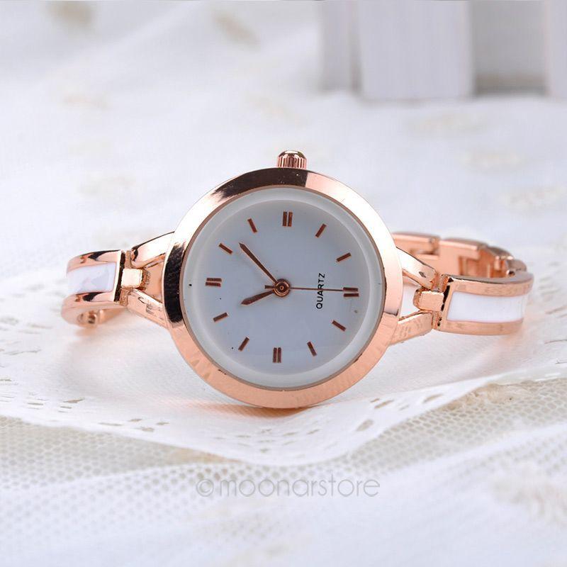 2014 Women fashion New Elegant Princess Ladies Quartz Analog Bracelet Wrist Watch 50FMHM129#Y2(China (Mainland))