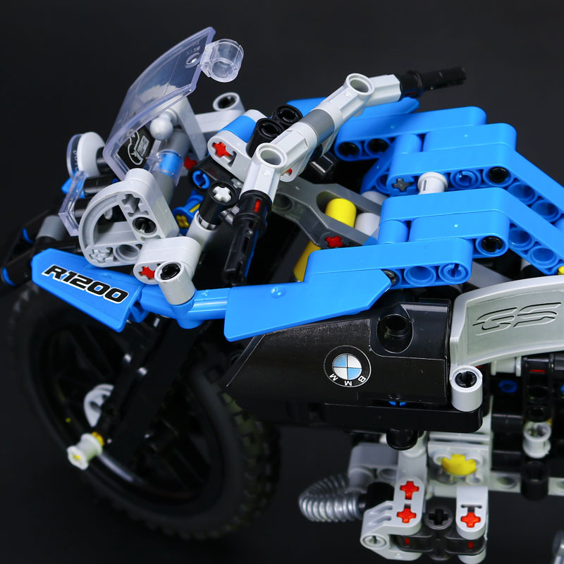 New 2017 Lepin 20032 Technic Series The BAMW Off-road Motorcycles R1200 GS Building Blocks Bricks Educational Toys