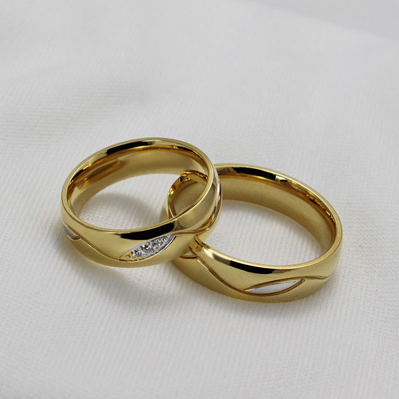 Izyaschnye wedding rings 18k gold wedding ring sale for Golden wedding rings