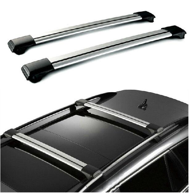 Car Roof Rack Cross Bar With Lock Anti-theft SUV Top 150LBS 68KG Aluminum Cargo Luggage Carrier For Auto Car Offroad 93-111CM(China (Mainland))