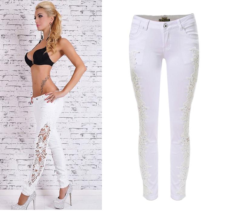 Sexy White Jeans Ye Jean