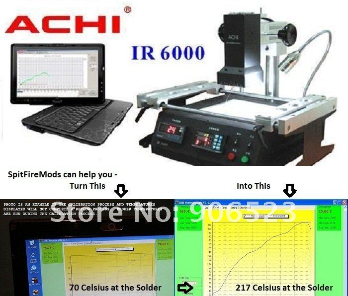 free shipping cheapest ACHI IR6000 BGA rework station for Southeast Asian market(China (Mainland))