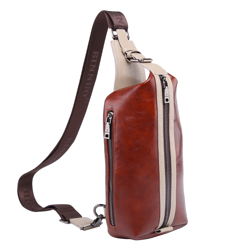 Crossbody Bag 2015 New Style Fashion Travel Shoulder Bag Men Leahter Messenger Bag(China (Mainland))