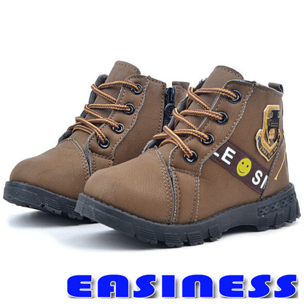 2014 Winter Warm Kids Boots Fashion Plus Velvet Boys Girls Shoes Children Snow kids martin boots - Easiness Lifestyle Store store