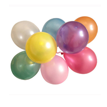 100pcs/Lot Colorful Latex Round Ballons Wedding Party Birthday Decor Balloons(China (Mainland))